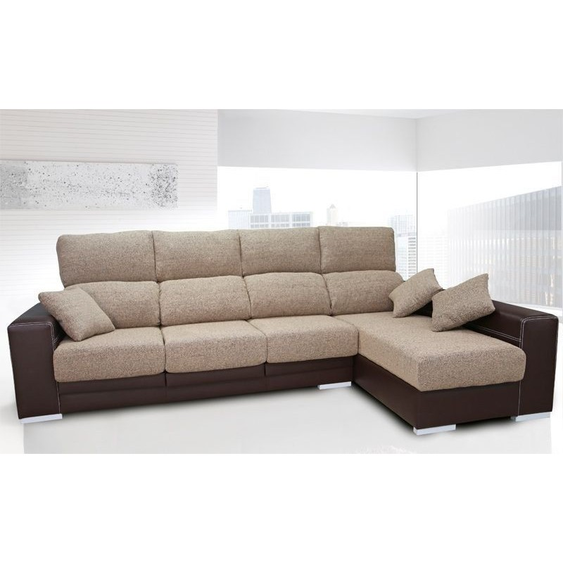 Sof oceano chaise longue comprar sof chaise longue barato for Sofas reclinables economicos
