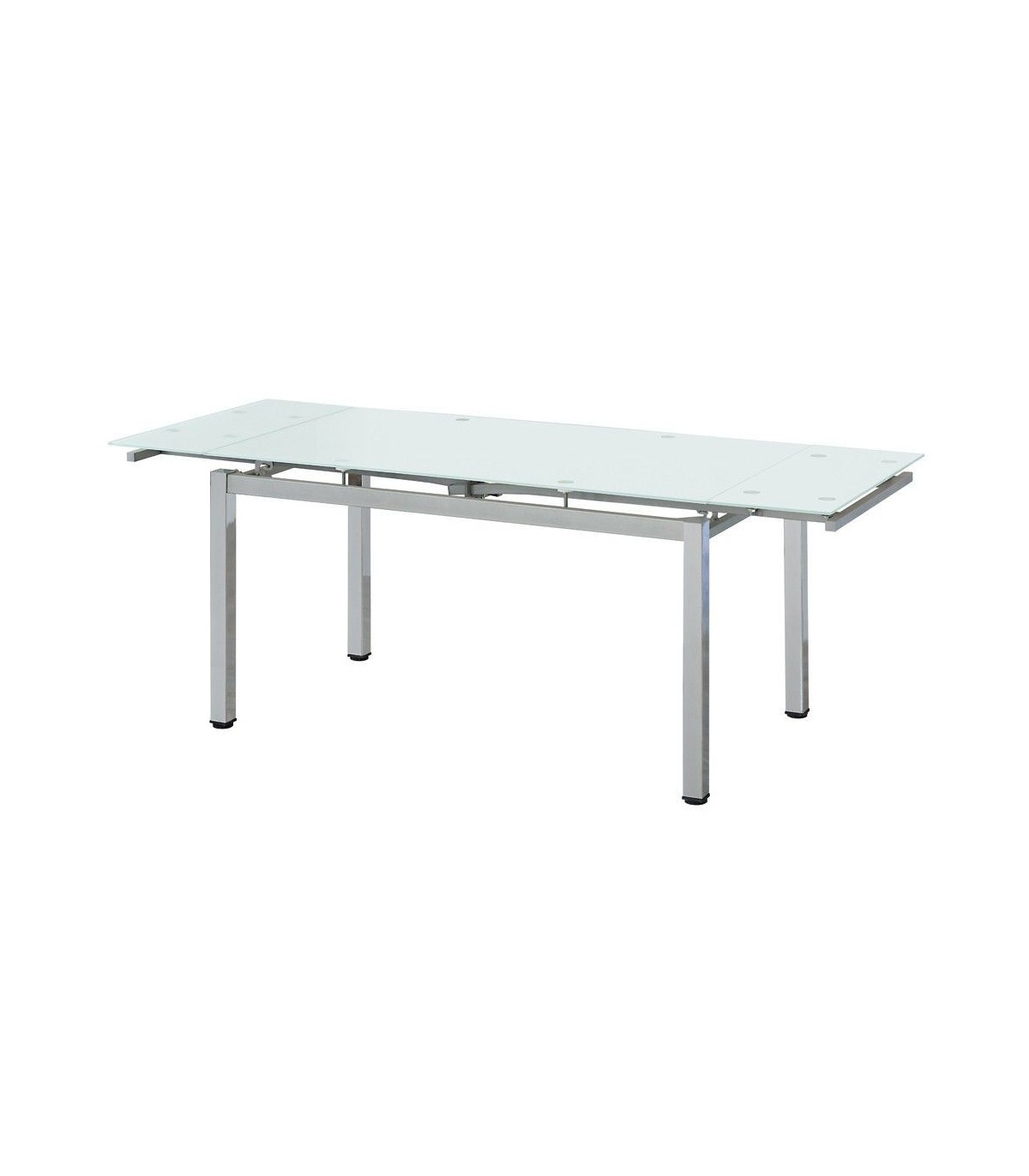 Mesa comedor FRIENDS extensible cristal