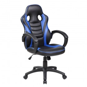 Silla gamer BLACK DRAGON EXTREME Negro-Blanco